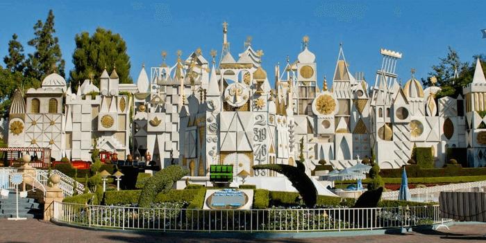 Disneyland it's a small world image