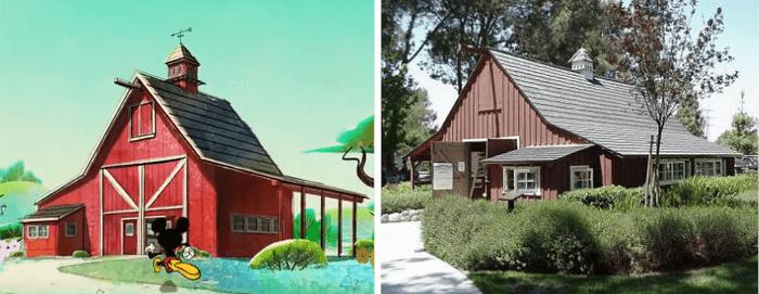 Tokyo Go barn comparison image